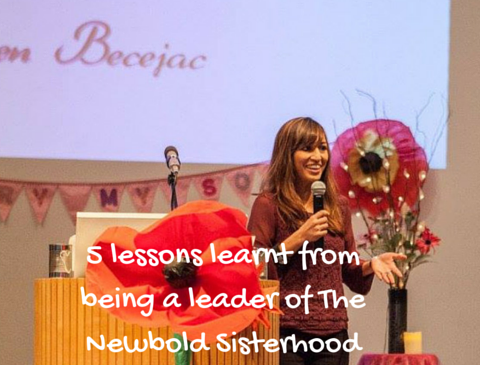 5 lessons learnt from being a leader of The Newbold Sisterhood