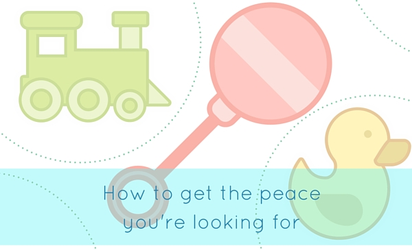 how to get the peace you are looking for